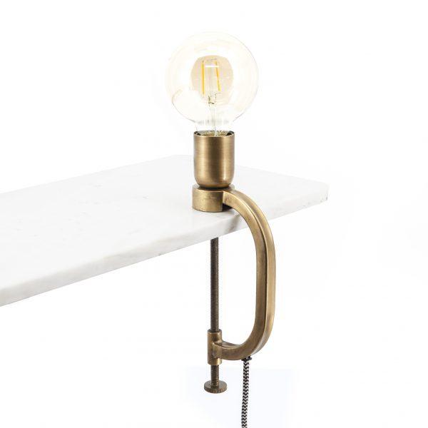 By-Boo Lamp Klamp Brass