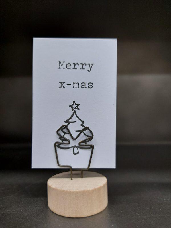 Nicolasina Clement Mini Kaart Merry X-mas