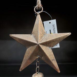 Sommerfield Gouden Kerstster Met Bel