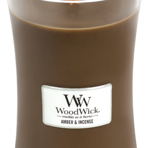 WoodWick Candle Amber & Incense Large Candle