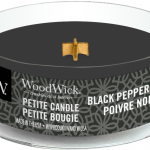 WoodWick Candle Black Peppercorn Petite Candle