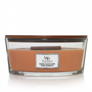 WoodWick Candle Caramel Toasted Sesamé - Ellipse