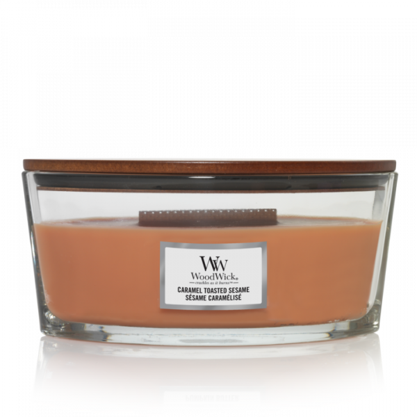WoodWick Candle Caramel Toasted Sesamé - Ellipse