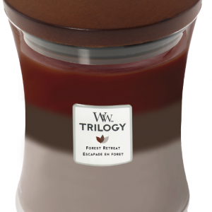 WoodWick Trilogy Forest Retreat Medium Candle