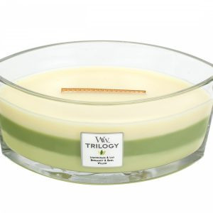WoodWick Trilogy Garden Oasis Ellipse Candle