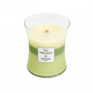 WoodWick Trilogy Garden Oasis Medium Candle