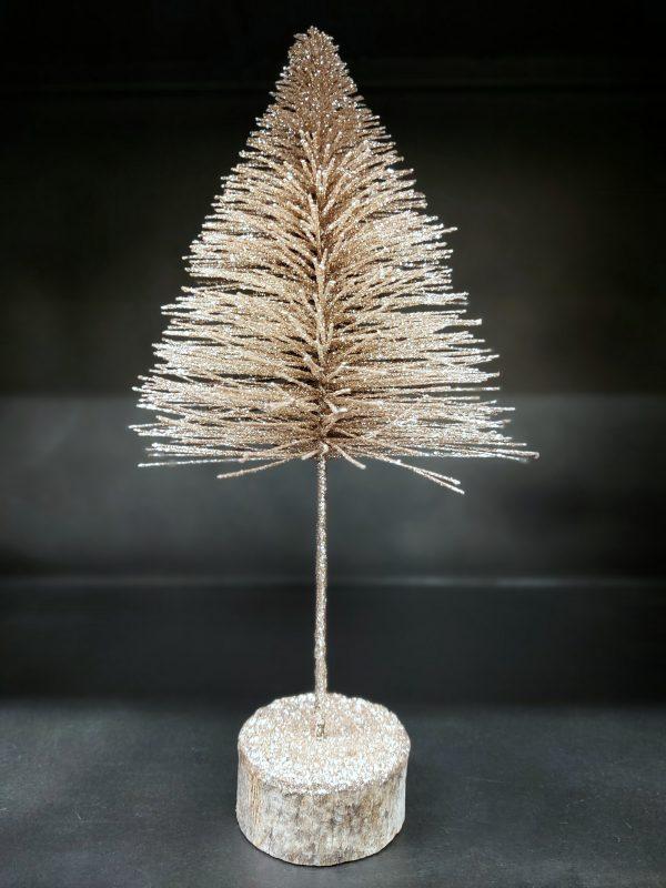J-Line Gouden Kerstboompje