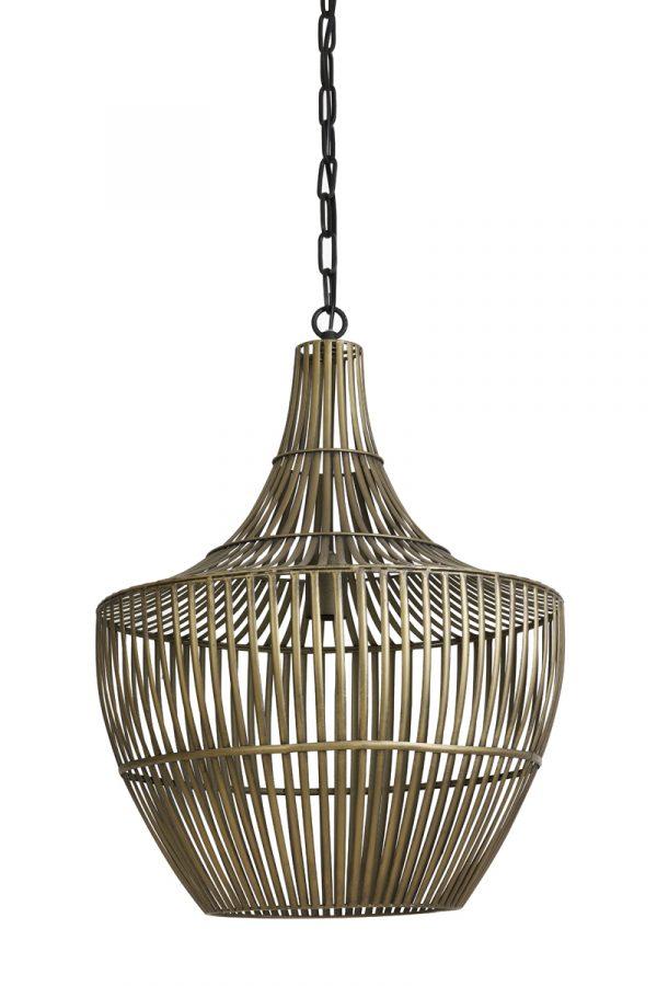 Light & Living Hanglamp Stella Small - Antiek Brons