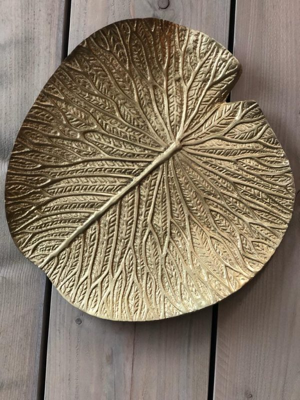 Light & Living Wand Ornament Blad - Goud