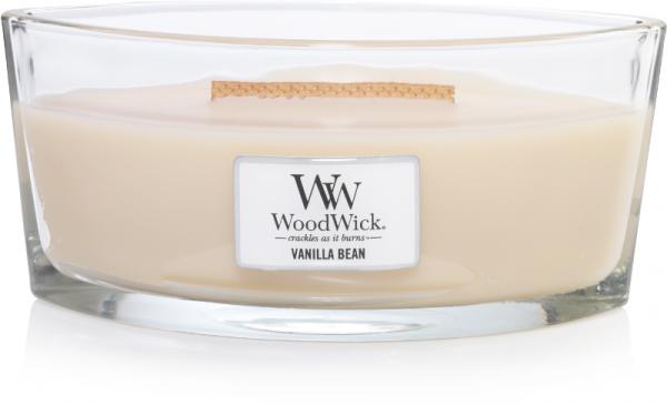 WoodWick Candle Vanilla Bean - Ellipse
