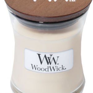 WoodWick Candle Vanilla Bean - Mini