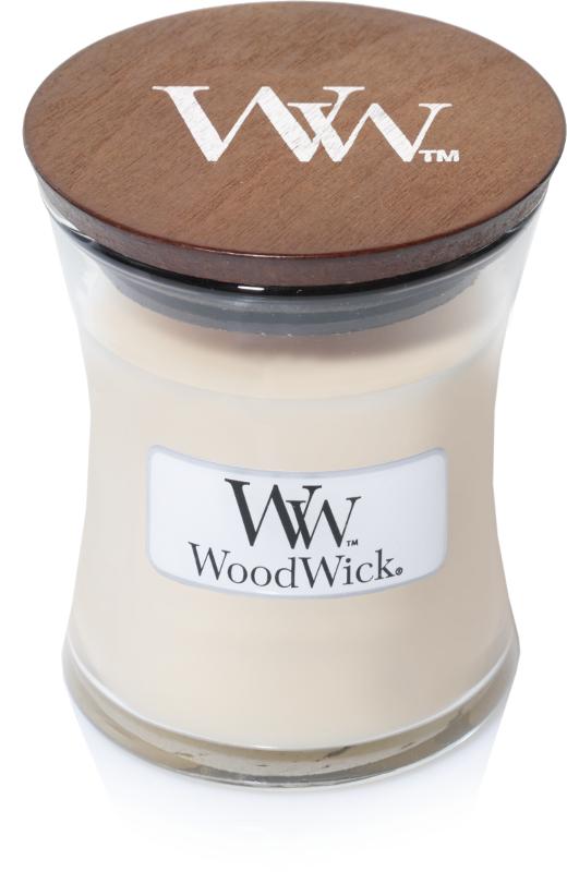 WoodWick Candle Vanilla Bean - Mini