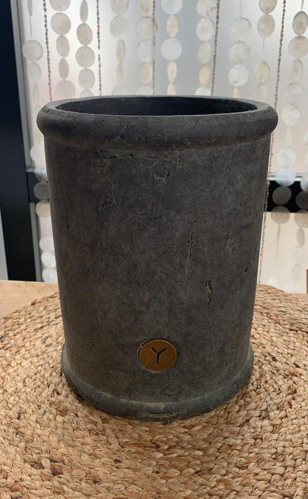 Brynxz Grijze Stenen Pot - Large