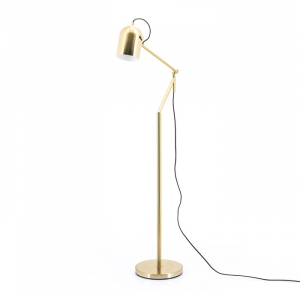 By-Boo Staande Lamp Sleek - Goud