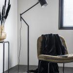 By-Boo Staande Lamp Sleek - Zwart