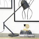 By-Boo Tafellamp Sleek - Zwart