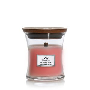 WoodWick Candle Melon & Pink Quartz - Mini