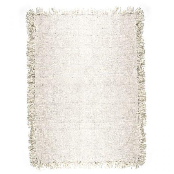 By-Boo Carpet Woolie Large - Crème (200x290 cm)