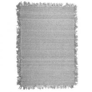 By-Boo Carpet Woolie Medium - Licht Grijs (160x230 cm)