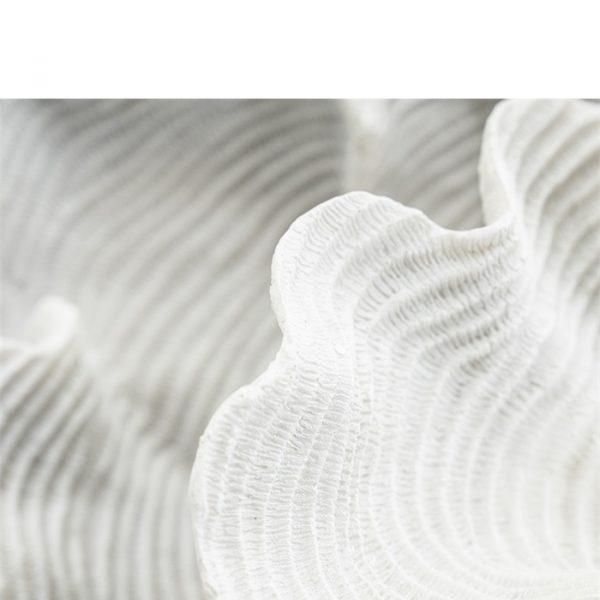 By-Boo Decoratie Coscina (Nagemaakt Koraal) - Wit