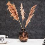 HouseVitamin Vaas Panter Amber / Bruin - Medium