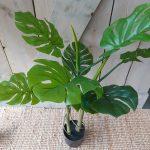 Kunstplant Monstera - 100 cm