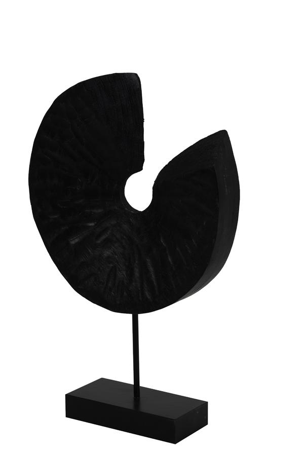 Light & Living Ornament op Voet Odion Zwart - Large