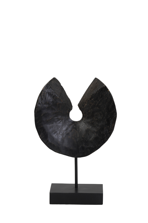 Light & Living Ornament op Voet Odion Zwart - Small