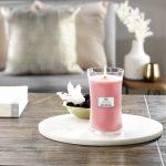 WoodWick Candle Melon & Pink Quartz - Large