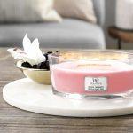 WoodWick Candle Melon & Pink Quartz - Ellipse