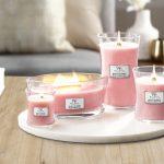 WoodWick Candle Melon & Pink Quartz