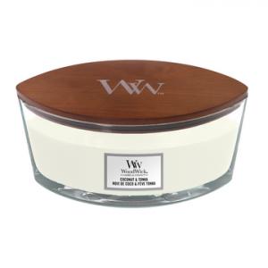 WoodWick Coconut & Tonka - Ellipse Candle