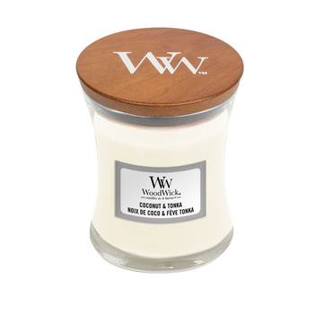 WoodWick Coconut & Tonka - Mini Candle
