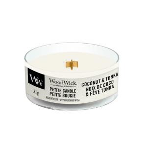 WoodWick Coconut & Tonka - Petite Candle