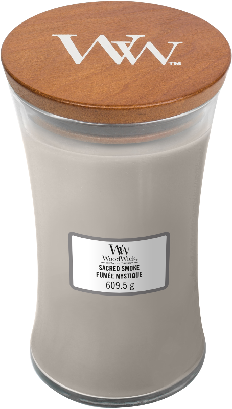 WoodWick Sacred Smoke Large Candle