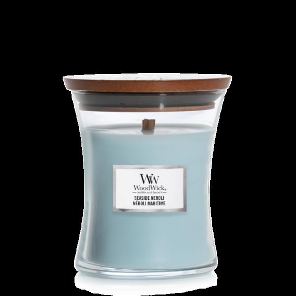 WoodWick Seaside Neroli - Medium Candle