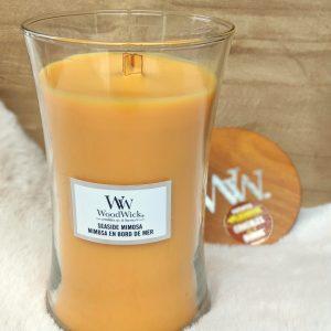 WoodWick Candle Seaside Mimosa - Large