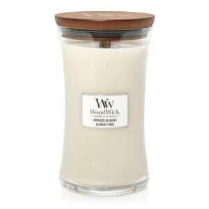 WoodWick Candle Smoked Jasmine - Large