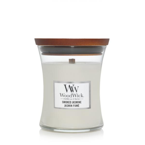 WoodWick Candle Smoked Jasmine - Medium