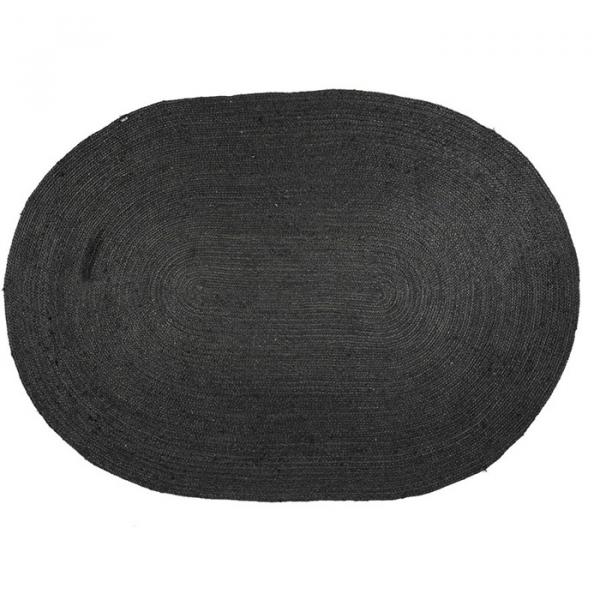 By-Boo Carpet Ramas Zwart- 160 x 230 cm (Medium)
