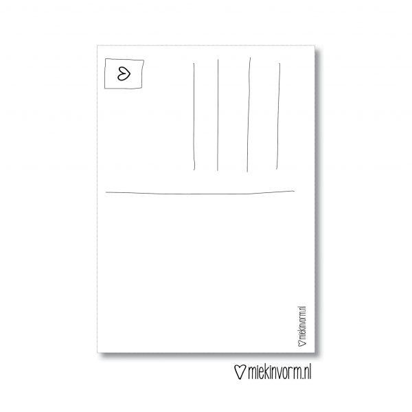 MIEKinvorm Kaart - Zo Blij Met Een Bonuspapa Als Jij
