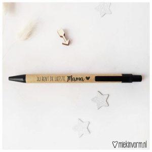 MIEKinvorm Pen - Jij Bent De Liefste Mama