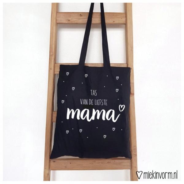 MIEKinvorm Tas - Tas Van De Liefste Mama