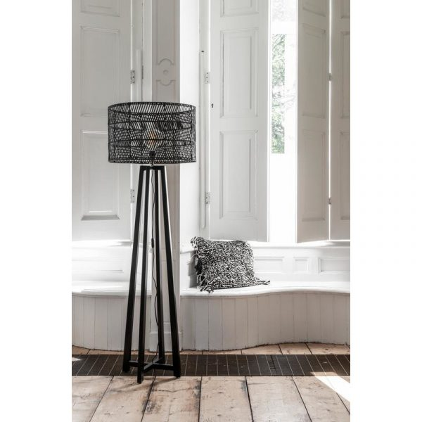 Must Living Staande Lamp Es Canar - Zwart