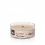 WoodWick Candle At The Beach - Petite Candle