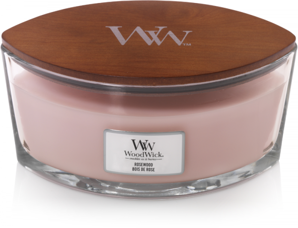 WoodWick Candle Rosewood - Ellipse