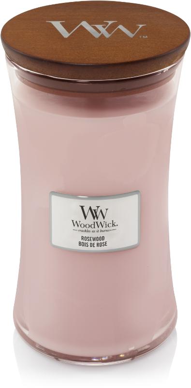 WoodWick Candle Rosewood - Large