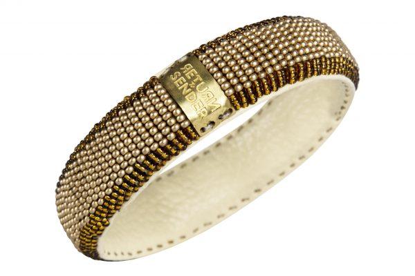 Return To Sender Beaded Bracelet Smal - Goud