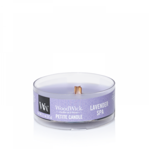 WoodWick Candle Lavender - Petite Candle